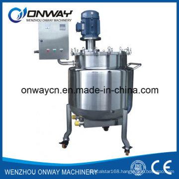 Pl Stainless Steel Jacket Emulsification Mixing Tank Oil Blending Machine Liquid Mixer Agitator