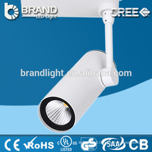Fabricante Hot Sales Comercial Dimmable COB LED Track Spot luz 20W