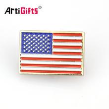 Personalizado esmalte ímã serviço secreto usss americano texas india eua bandeira lapela pin badge