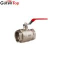"""GutenTop chrome plated lever handle NPT threads brass ball valve 1/2"""""""