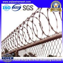 Razor Wire Einsatz im Border Fence mit (CE und SGS)