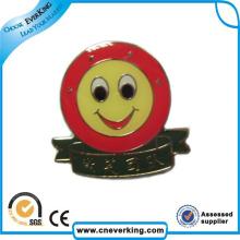 Crachás coloridos do botão do folha-de-flandres da fabricação da fábrica para relativo à promoção