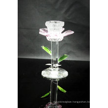 Crystal Candle Holder for Table Ware