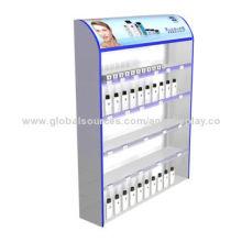 Wooden cosmetic product display stands, top grade, exquisite