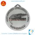 Новый стиль пользовательские эмаль металл, античное серебро тхэквондо медаль для клуба сувенир, подарок