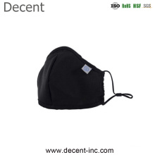 Wholesale Disposal Custom Design Reusable Anti Pollution Anti Water Black Fashion Cotton Face Mask
