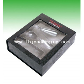 Rigid Cosmeic Packing Perfume Box with Blister