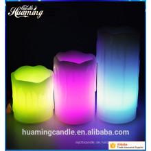 2016 beliebte LED Kerzen batteriebetriebene Teelicht elektrische Kerzen flammenlose Kerzen mit Fernbedienung