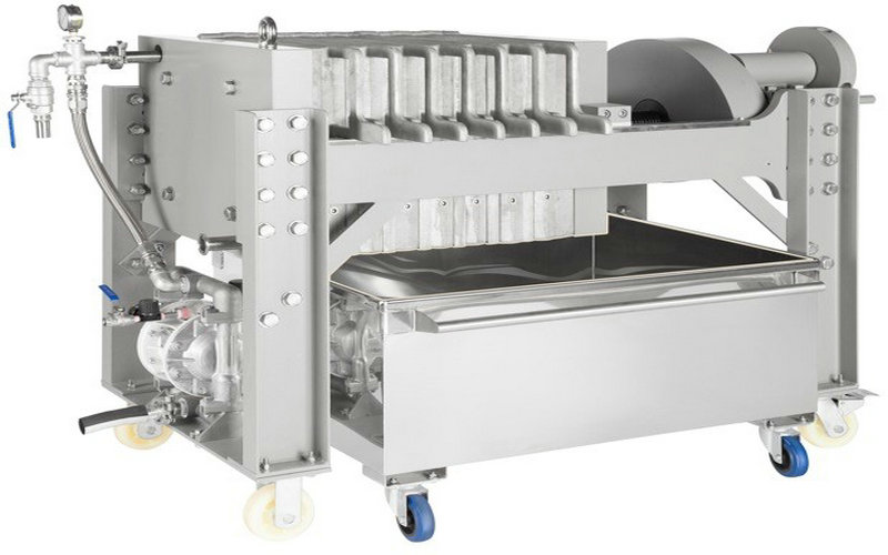 Sugar Syrup Stainless steel filter press 2