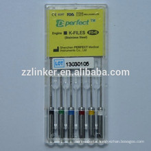 25mm Assorted Dental Instrument Engine Use K-File