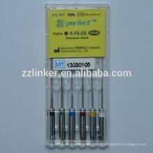 25mm Assorted Dental Instrument Engine Use K-File