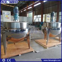 Chaleira Jacket Industrial KUNBO 500L para cozinhar alimentos
