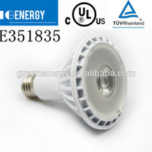 18w par38 led spotlight e27 spot light TUV CE UL approval 3 years warranty 11w dimmable led bulb