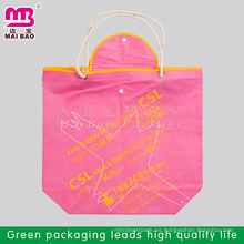 80 gsm o Cutomized más barato China alibaba personalizado hacer bolsa de compras no tejida