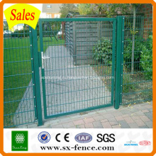 ПВХ покрытием сварные сетки забор ворота