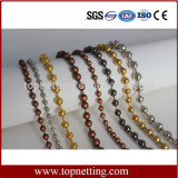 Stainless Steel Decorative Metal Bead Chain Curtain