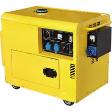 Gerador diesel silencioso do tipo com ATS 5gf-B03