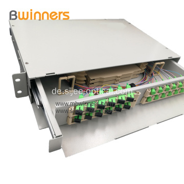 24/48 Core Fiber Optic Termination Box zur Rack-Montage
