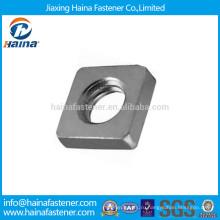 Шток DIN562 Нержавеющая сталь квадратная тонкая гайка
