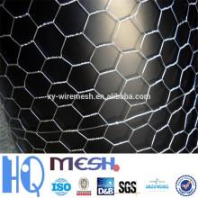 Malla hexagonal / malla de alambre hexagonal galvanizada / malla de alambre hexagonal revestida de pvc