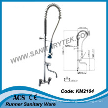 Mounted Pre-Rinse Kitchen Sink Faucet (KM2104)