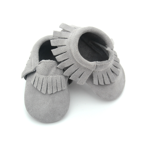 Leather Baby Soft Moccasins