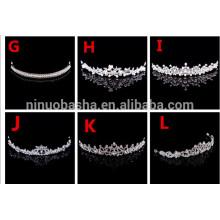Briliant Bridal Wedding Party Accessoires pour cheveux Head Crown Accessoires de mariage Party NB1004