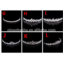 Briliant Bridal Wedding Party Hair Accessories Head Crown Wedding Party Accessories NB1004