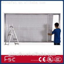 Outdoor Backlit led fabric display