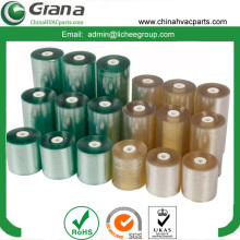 Stretch transparent PVC film for package