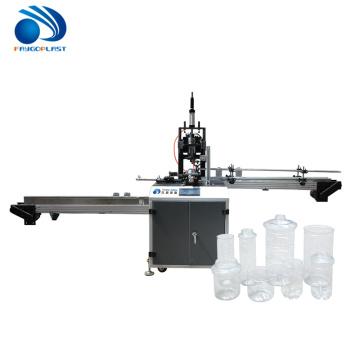 Automatische Kunststoff PET Flaschenhalsschneidemaschine