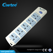 Hot sale 5 outlet multi electrical power extension socket