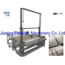 Fabricación profesional de China Fabricación de tela no tejida Rebobinadora