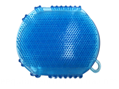 blue curry comb