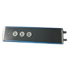 Luz de rua solar exterior do diodo emissor de luz do sensor de Bridgelux PIR