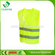 CE EN20471 class 2 yellow walking reflective safety clothing reflective vest