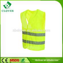 CE EN20471 класс 2 желтая светоотражающая защитная одежда отражательная жилетка