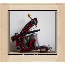 Novo projeto 8 bobinas ferro tatuagem máquina tatuagem arma fornecimento