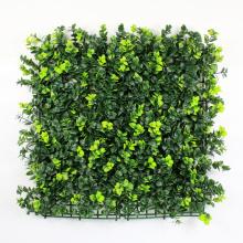 Material de PE verde boj artificial este seto mat para jardín de su casa