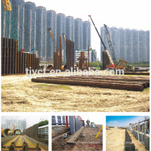 Q295 S235 S355 hot rolled steel sheet pile 400x150mm
