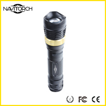 5W CREE XP-E Bright Aluminium Rechargeable LED Torch Flashlight (NK-2668)