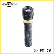 5W CREE XP-E Lanterna de alumínio recarregável de alumínio da tocha do diodo emissor de luz (NK-2668)