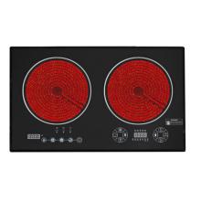 Cuiseur infrarouge double de commande tactile, cuiseur d'induction (Sb-Icd04)