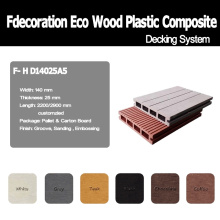 Piscina Decking Composite Wood Material WPC Decking
