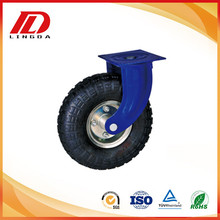 10'' industrial casters with pneumatic wheels