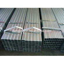Matériau d'escrime tube / tuyau d'acier carré galvanisé
