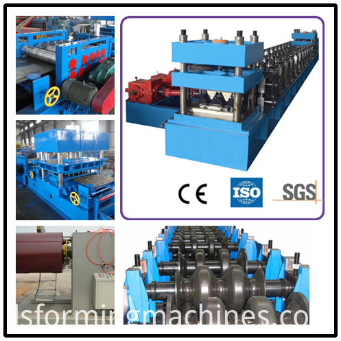 Steel Guard Rail Roll Forming Machine