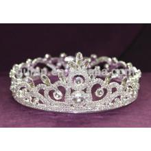 Fábrica de tiara directamente rhinestone