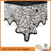 Midnight Spider web Lace Table Cloth