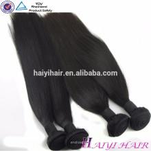 Großhandelsnerz-brasilianisches Haar 100 Jungfrau-unverarbeitete ursprüngliche natürliche Menschenhaar-Webart